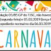 Expediente CNB/SC – Carnaval 2019