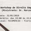 Workshop de Direito Empresarial Aplicado