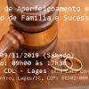 Inscrições abertas! Curso de Aperfeiçoamento em Direito de Família e Sucessões em Lages