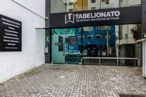 1º tabelionato itajaí - CNB/SC